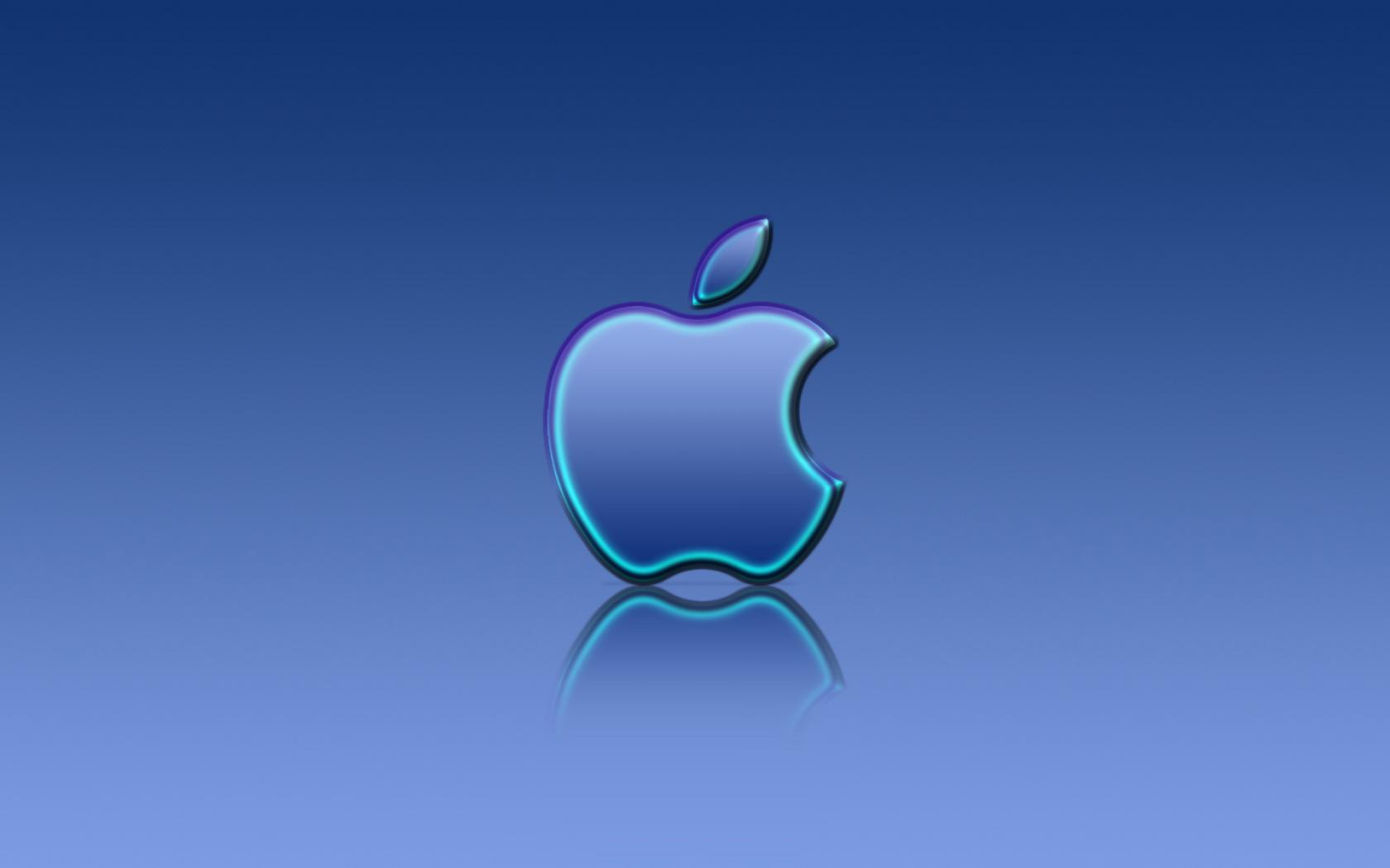 blue apple logo hd - photo #13