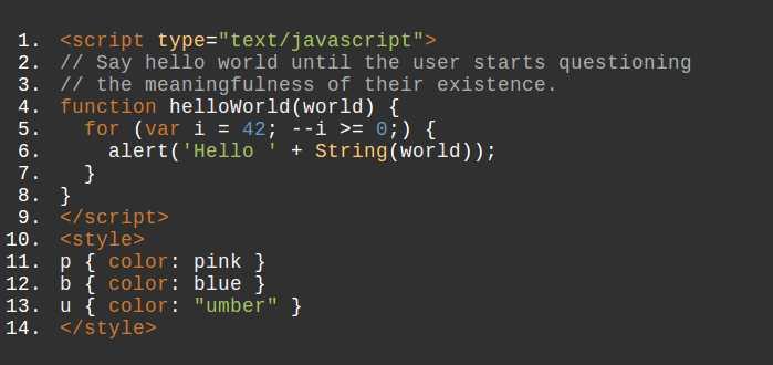 Insertar codigo de ejemplo en Drupal