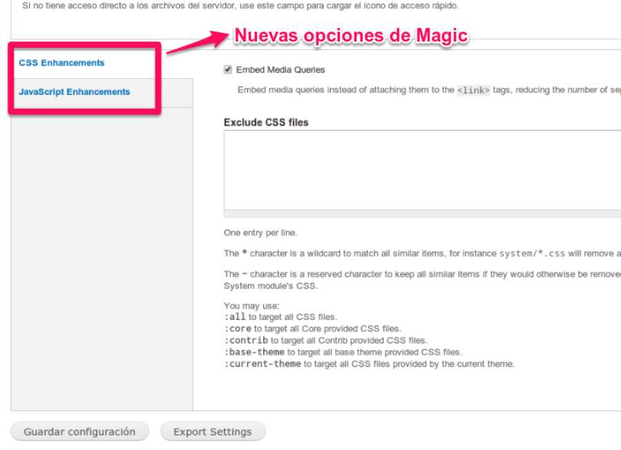 Drupal modulo magic