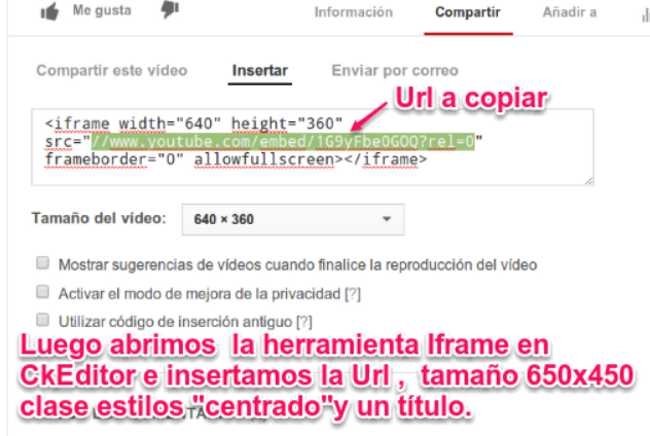 Ckeditor video youtube